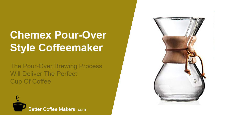 Chemex Glass Pour-Over Coffee Maker